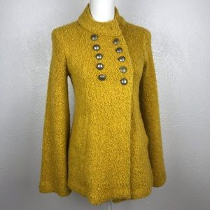 Free People | Bell Sleeve Button Jacket | Small